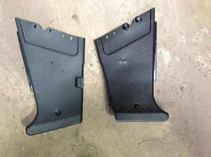 peugeot 205 1.9 1.6 gti pair of black front kick pannels trims